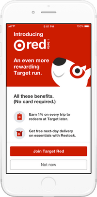 Target Red Mobile App