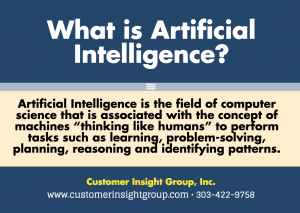 What is Definition of Artificial Intelligence