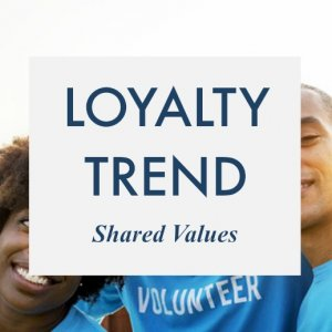 Customer Loyalty Trend Shared Values