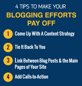 Blogging for Business Tips