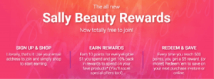 Rollout of Sally Beauty Rewards
