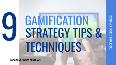 Gamification Strategy Tips and Techniques