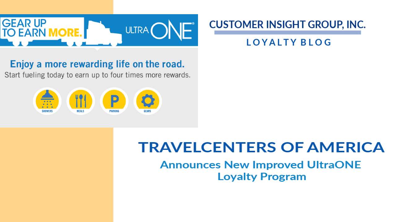 TravelCenters of America Updates Drivers Loyalty Program
