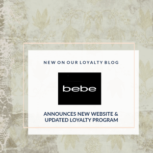 Bebe Unveils New Website and Loyalty Program