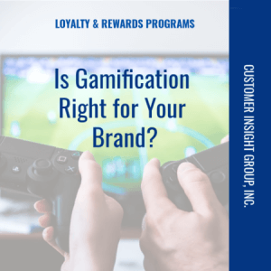 Gamification and Loyalty Programs