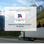 TravelCenters of America Updates Drivers Loyalty Program —UltraONE
