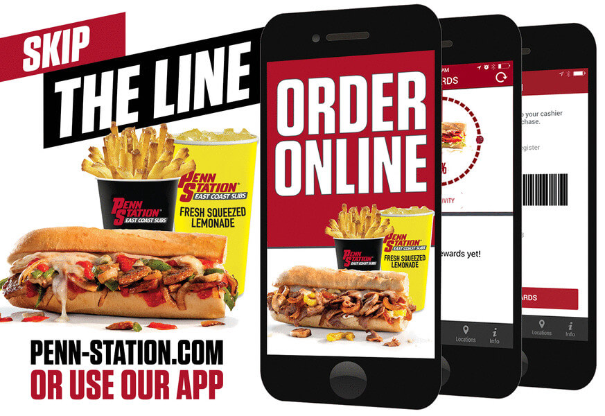 Penn Station Updated Loyalty App