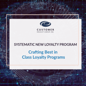 Systematic New Loyalty Program