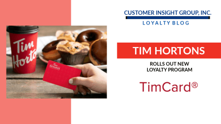 Tim Hortons Announces New Tims Rewards