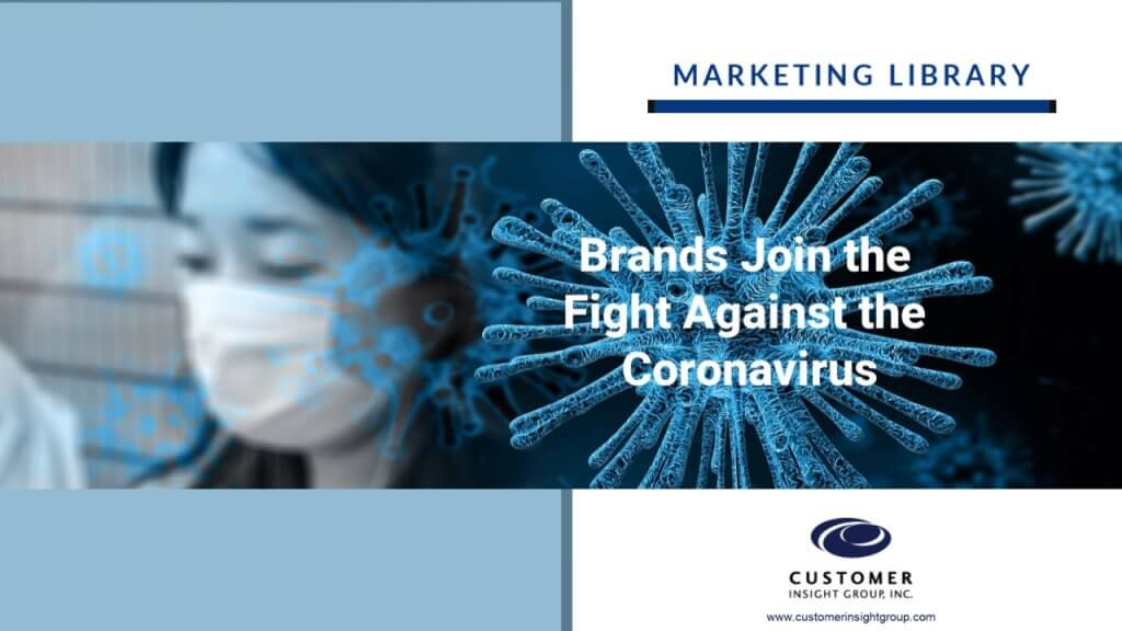 USA Brands Join the Fight Against Coronavirus