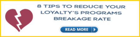 how to minimize loyalty program breakage rate