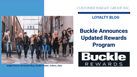 the buckle improves loyalty program