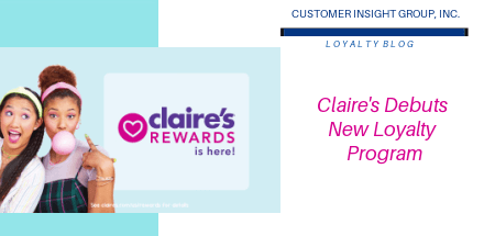 claires unveils new loyalty program