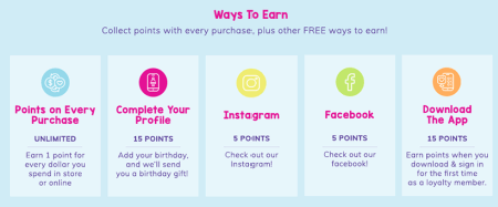 Ways to Earn Claire Reward Points