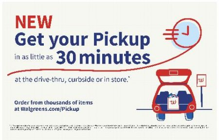 drive-thru in as little as 30 minutes