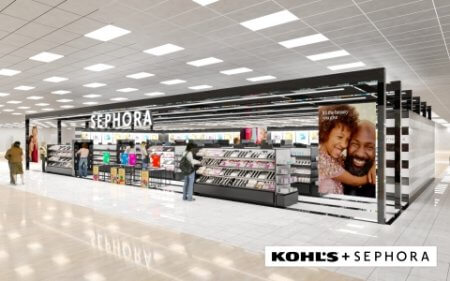 Sephora at Kohls shops will replace Kohls current in-store beauty space